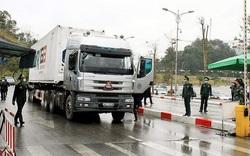Cửa khẩu quốc tế Hữu Nghị đã xuất khẩu được 31 xe hàng