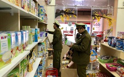 Tịch thu 650 sản phẩm thực phẩm dành cho trẻ không có hóa đơn chứng từ