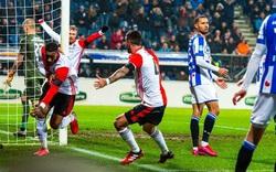 Heerenveen thảm bại trong ngày Đoàn Văn Hậu dự bị