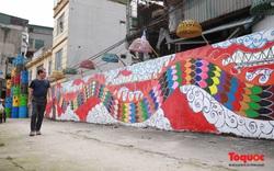 """Hô biến bãi rác Phúc Tân thành điểm """"check in"""" nghệ thuật lý tưởng giữa lòng Thủ đô"""