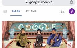 Google lần đầu tiên tôn vinh Ca trù