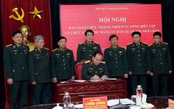 Đại tá Đoàn Xuân Bộ phụ trách Tổng biên tập báo Quân đội Nhân dân