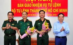 Hai Thiếu tướng nhận quyết định về công tác cán bộ
