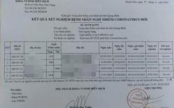 Bốn trường hợp được cách ly ở Quảng Bình đều âm tính với virus Corona