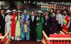 Đoàn giao lưu kinh tế, văn hóa và du lịch Nhật Bản xem show diễn thực cảnh Ký Ức Hội An