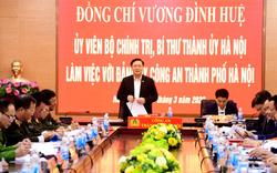 Bí thư Thành ủy Hà Nội: Bảo đảm không để lọt người có nguy cơ nhiễm dịch trong cộng đồng