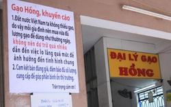 Chủ đại lý gạo ở Đà Nẵng treo tấm bảng khuyên khách không nên...mua nhiều gạo