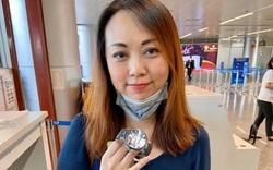 Trao lại đồng hồ trị giá gần 1 tỷ cho hành khách để quên ở sân bay