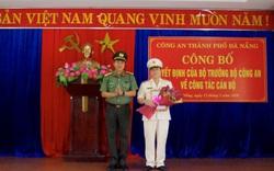 Công an Đà Nẵng công bố quyết định của Bộ trưởng Bộ Công an về công tác cán bộ