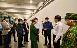 Bộ Y tế kiểm tra công tác phòng, chống dịch Covid-19 tại sân bay Nội Bài