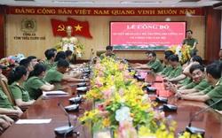 Bộ Công an điều động, bổ nhiệm nhiều cán bộ tại Thừa Thiên Huế