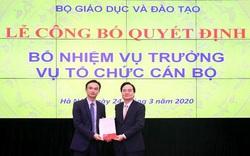 Bộ GDĐT bổ nhiệm Vụ trưởng Vụ Tổ chức Cán bộ, Vụ trưởng Vụ Giáo dục Dân tộc