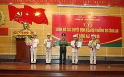 Công an tỉnh Quảng Bình công bố các quyết định của Bộ trưởng Bộ Công an về công tác cán bộ