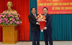 Thứ trưởng Bộ KHĐT Nguyễn Đức Trung giữ chức Phó Bí thư Tỉnh ủy Nghệ An