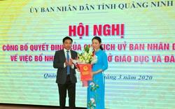 Giám đốc Sở Giáo dục và Đào tạo Quảng Ninh chính thức nhận quyết định bổ nhiệm