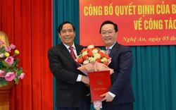 Ban Bí thư điều động Thứ trưởng Bộ Kế hoạch và Đầu tư giữ chức Phó Bí thư Tỉnh ủy Nghệ An