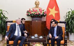 Phó Thủ tướng, Bộ trưởng Ngoại giao Phạm Bình Minh tiếp Thứ trưởng thứ nhất Bộ Ngoại giao Nga sang dự Đối thoại chiến lược Việt – Nga lần thứ 11