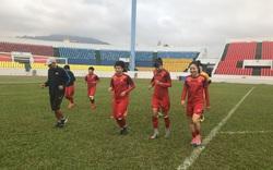 Đội tuyển nữ Việt Nam chuẩn bị gắt gao cho trận đấu lượt về