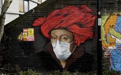 Nghệ thuật đường phố và thông điệp chống Covid-19