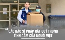 Bánh mì Việt Nam phục vụ tuyến đầu chống đại dịch COVID-19 ở Pháp