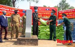 Biên phòng Quảng Trị chung tay, tiếp sức cho lực lượng bảo vệ biên giới Lào chống dịch