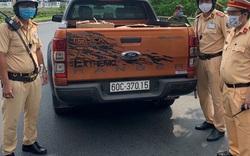 Phát hiện xe ô tô chở 10.500 khẩu trang y tế không rõ nguồn gốc xuất xứ tại khu vực sân bay Tân Sơn Nhất
