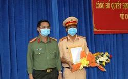 Công an tỉnh Tây Ninh công bố quyết định của Bộ trưởng Bộ Công an về công tác cán bộ