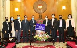 Liên đoàn bóng đá Việt Nam ủng hộ 500 triệu đồng, chung tay phòng, chống Covid-19