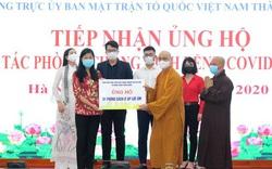 Thành ủy Hà Nội phát động ủng hộ phòng, chống dịch Covid-19