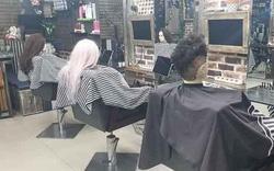 Chủ tiệm tóc khoe ảnh khách đến làm đầu những ngày có dịch, nhưng sự thật khiến dân mạng