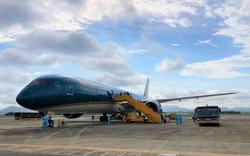 Chuyến bay chở 298 hành khách Việt Nam từ Nhật Bản hạ cánh tại sân bay Vân Đồn