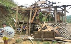Công an tỉnh Sơn La giúp người dân khắc phục hậu quả mưa đá