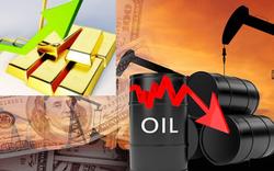 Thị trường tuần tới 25/4: Giá dầu lao dốc 24%, vàng tăng cao
