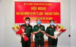 Bàn giao nhiệm vụ Phó Tư lệnh – Tham mưu trưởng Bộ Tư lệnh TP.HCM