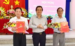Công bố quyết định về công tác cán bộ của tỉnh Long An
