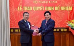 Trao quyết định bổ nhiệm Vụ trưởng Vụ Đông Bắc Á, Bộ Ngoại giao