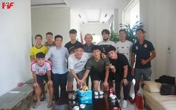 HLV Park Hang-seo thăm hỏi, chúc mừng sinh nhật tiền vệ Lương Xuân Trường