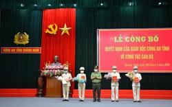 Công an tỉnh Quảng Nam điều động, bổ nhiệm nhân sự chủ chốt