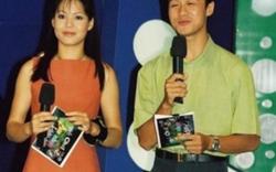 Diễm Quỳnh khoe ảnh thời trẻ bên MC Anh Tuấn