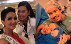 Hoa hậu Hoàn vũ Thái vừa sinh con, H'Hen Niê liền có động thái chứng minh mối quan hệ sau 2 năm từng là đối thủ