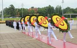 Tổ chức lễ viếng Chủ tịch Hồ Chí Minh