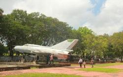 Sớm di dời máy bay, xe tăng tại Bảo tàng Lịch sử Thừa Thiên Huế đến địa điểm mới