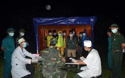 Thêm 12 công dân vượt biên trái phép từ Lào về bị phát hiện và đưa đi cách ly