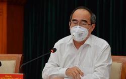 Bí thư Thành ủy TP.HCM Nguyễn Thiện Nhân: Nếu doanh nghiệp nào không đảm bảo an toàn về phòng chống dịch Covid-19 thì nghiên cứu tạm dừng hoạt động
