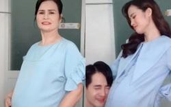 Đông Nhi và mẹ cùng tái hiện khoảnh khắc mang thai: Chỉ vài giây thôi mà thấy tình mẫu tử đẹp nhất trên đời!
