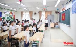 Bé mầm non và tiểu học háo hức trở lại trường
