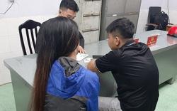 Trốn nhà chơi ma túy với bạn trai, cô gái 9X mếu máo xin công an 'đừng bắt lên phường'