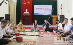 Bắc Giang: Tổ chức lớp truyền dạy ca trù cho các nghệ nhân, ca nương tại cơ sở