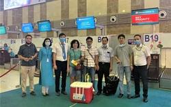 Hành trình vận chuyển trái tim từ Hà Nội đến TP Hồ Chí Minh