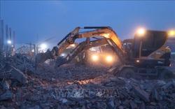 Thủ tướng yêu cầu khẩn trương điều tra làm rõ nguyên nhân vụ tai nạn sập công trình ở Khu công nghiệp Giang Điền